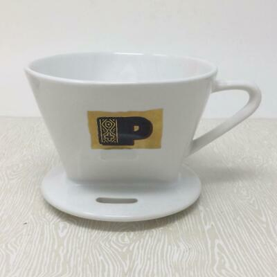 Peet's Ceramic Pour Over Cone Coffee Maker Single Cup Brewer Peets