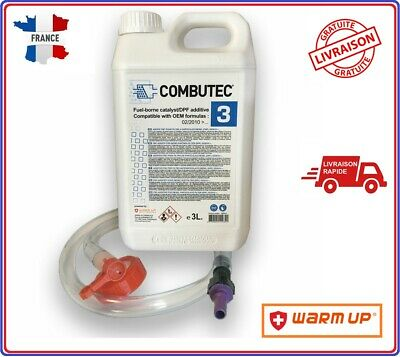 Kit Additif FAP Cerine Bleu F.A.P Combutec 3 3L Warm Up CITROEN FORD PEUGEOT