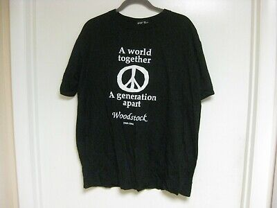 WOODSTOCK 25th ANNIVERSARY TEE-SHIRT