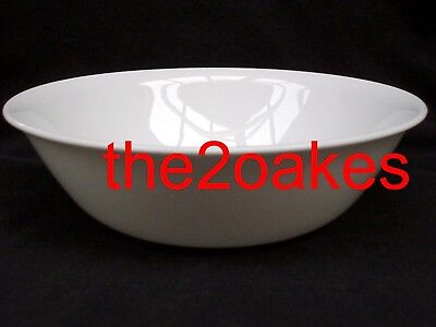 Corelle WINTER FROST WHITE Serving Bowl Large Vegetable 8-1/2""