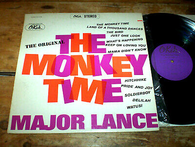 MAJOR LANCE - The Monkey Time / Mama Didn't Know - Okeh 1963