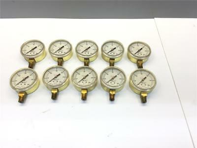 25pc NCG 0-300 Welding Oxy Acetylene National Cylinder Gas PSI GAUGE 100105-18