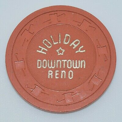 1960 Holiday Casino Chip Downtown Reno Nevada H&C CJ Mold