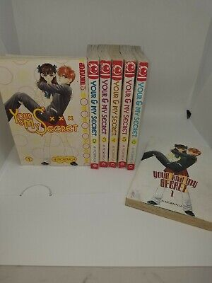 Your and My Secret Series Collection 1-6 COMPLETE English Manga by Ml Morinaga
