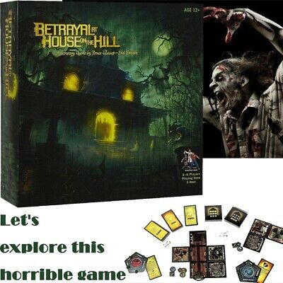 Betrayal at the House on the Hill Game Board Game Party Home Game Gift NICE