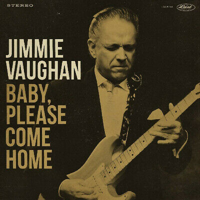 Jimmie Vaughan ‎– Baby, Please Come Home SEALED The Last Music GOLD VINYL LP