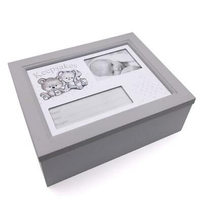 Beautiful Baby Wooden Keepsake Box Gift BB0299
