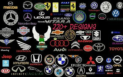 Machine Embroidery Designs - 225+ Car Companies Brand Logos Embroidery Designs