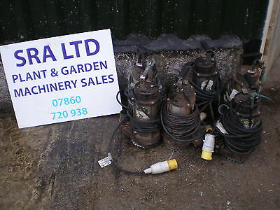 SUBMERSIBLE SUB WATER Pump 10 Metre 110 Volt V Cable With