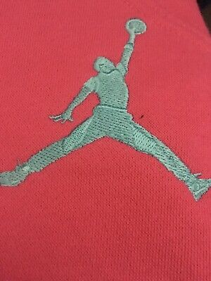 Nike Air Jordan Girls Kids Tracksuit Bottoms  Pink  Size L Age12-13 New RRP £40