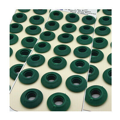 Washer Sealed for Tarpaulin /& Groundsheets 100 Red Plastic Snap Eyelets 12mm