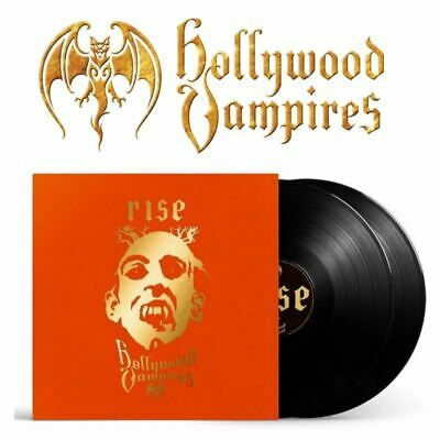 Hollywood Vampires Rise 2xLP Black vinyl Joe Perry Alice Cooper Johnny Depp
