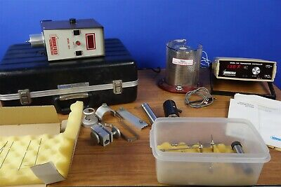 Brookfield Digital Viscometer - Complete System with Accessories