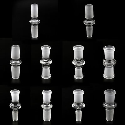 14mm 18mm Male Female Glass Adapter Joint Slide Bowl Extension various size T1