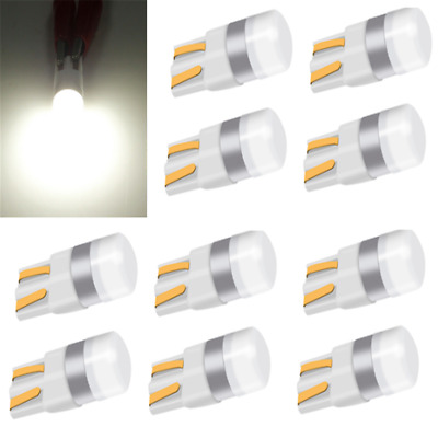 10x White Canbus T10 LED Bulb W5W 3030 SMD Car Width Light Interior Reading Lamp