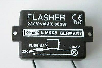 KEMO M008 Blinker-Modul 230 V~ flasher