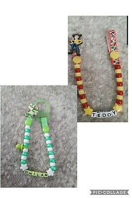 **Toy Story** Personalised Dummy Clip,  Read Full Description!!!