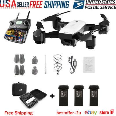 Drone x pro 5G Selfie WIFI FPV GPS With 1080P HD Camera Foldable RC Quadcopter ✔