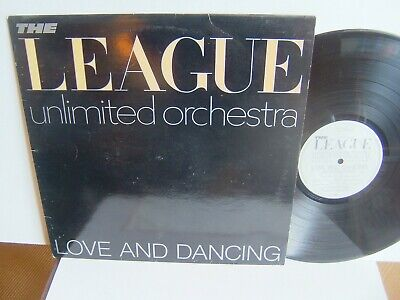The League Unlimited Orchestra - Love And Dancing OVED 6  1981 Virgin  Human