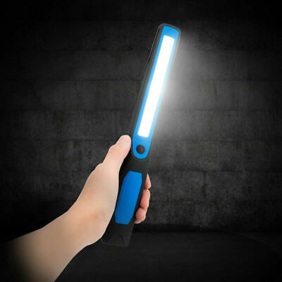 COB LED Work Light Torch Li-Ion Rechargeable Cordless Inspect Lamp Camp Hike