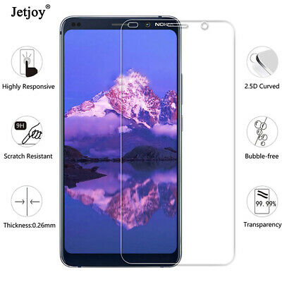 2x Premium Real Glass Screen Protector Tempered Film For Nokia 8.1 Plus 3.2 4.2