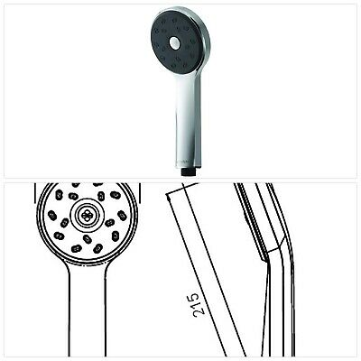 Methven MCTS Maku Cool to Touch Bar Shower and Kit with Chrome Finish