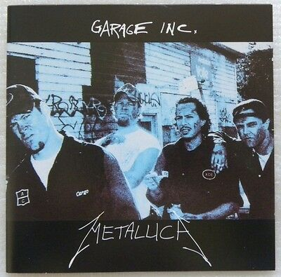 Metallica Garage Inc. 2 Cd Set Made In Brazil Rare First Pressing 1998