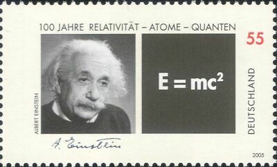 Germany 2005 A Einstein/Scientists/Space/Science/Mathematics/People 1v (n39807a)