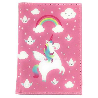 Unicorn Passport Holder Cover Travel Holiday ID Holder Protector Case Wallet
