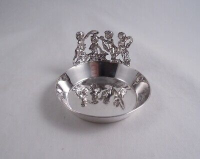 William B Meyers Sterling Silver Puttis Wine Taster Handmade Figural
