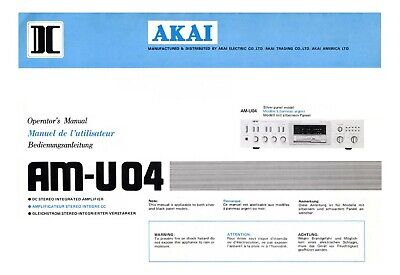 AKAI REPAIR SERVICE OWNERS manuals, 2 dvd collection, shipped FREE