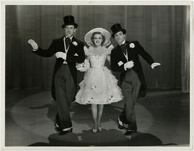 Judy Garland, George Murphy, Gene Kelly For Me & My Gal Vintage Photograph 1942