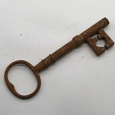 Big Large Old Antique Vintage Door Keys Rustic Home Decor Steampunk Skeleton Key