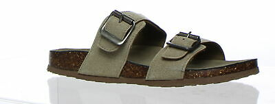 5b4c5c821 MADDEN GIRL BRANDO Faux Leather Footbed Sandals, Women's Size 9 1/2 ...