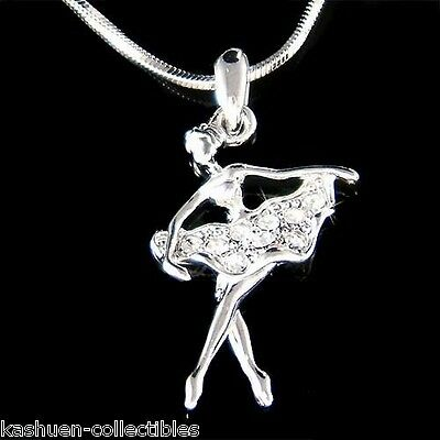 Ballerina in Swarovski Cristallo The Nutcracker Ballerina Danza Classica Collana