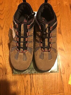 Ozark Trail Men's Brown Bungee Hikers Hiking Walking Trail Shoes Size 8.5 NIB