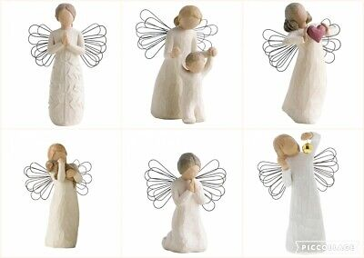 Range Of Willow Angel With Wings Figurine Ornament Sentiment Keepsake Gift Box