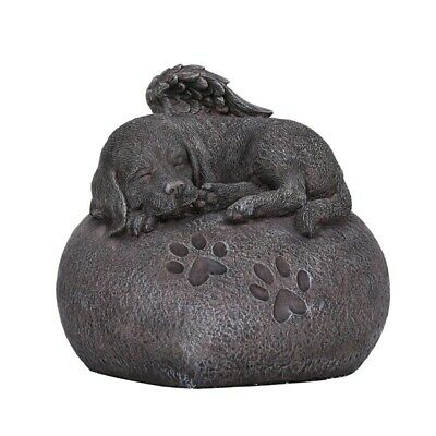 Dog Urn For Cremations Ashes Statue Pet Memorial Figurine