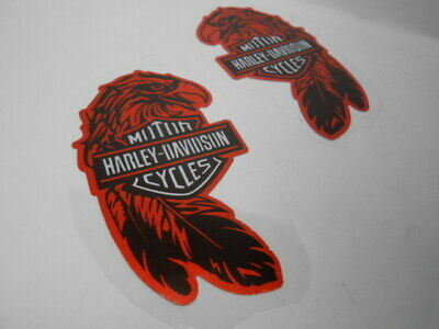 HARLEY-DAVIDSON sticker (with reflective agent) H-2 2 sheets width 5 cm