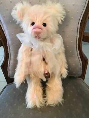 Charlie Bears CANDYFLOSS 2011 Non UK Isabelle Mohair FREE US SHIPPING