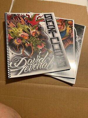Dave Tevenal  Sketches Sketch Books 1 2 3