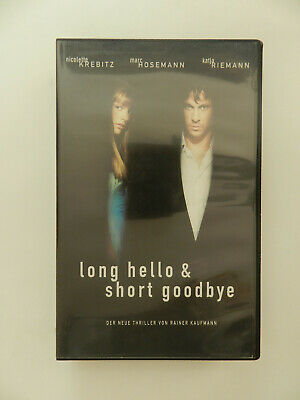 VHS Video Kassette Long Hello & Short Goodbye Nicolette Krebitz