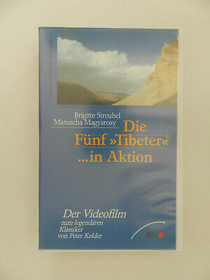 VHS Video Kassette Die Fünf Tibeter in Aktion Streubel Magyarosy