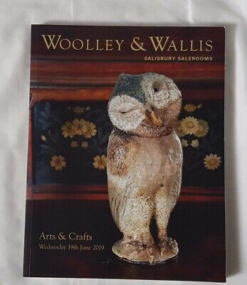 Woolley & Wallis Catalogue Arts & Crafts Martinsware  Powell Ruskin + Jun19