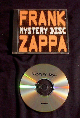 1998 Frank Zappa The Old Masters 1St + 2Nd Mystery Lps On 1 Cd Beefheart Mothers