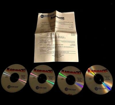 1999 Flashback 4Cd Radio Show Alice Cooper Pink Floyd Led Zeppelin Nazareth Who