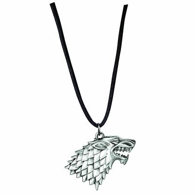 Game of Thrones Stark Sigil House Pendant Necklace - Noble Collection