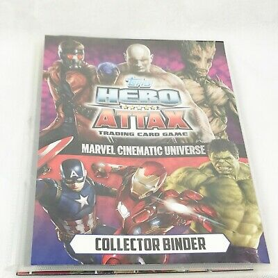Vintage Collection  Topps Hero Attax Annual Trading Cards Book Thing Marvel