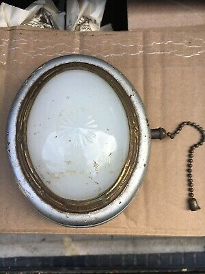 Vintage & Rare! Antique Eveready Wallite Portable Light Pull Cord 1920's-1930's