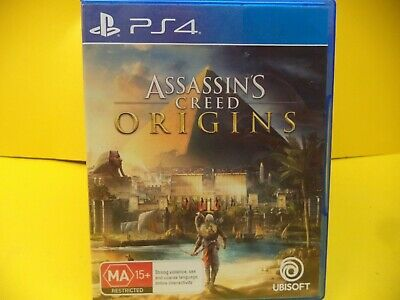 Assassins Creed Origins Sony Ps4 Game
